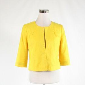 Bright yellow J. CREW blazer jacket 4
